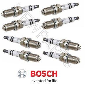 For 8-For BMW X5 E34 530i E39 540i E60 Platinum Spark plugs Bosch FGR7DQP #4417
