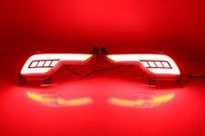 For Hyundai Santa Fe/IX45 2016-2017 Red LED Rear Bumper Tail Brake Light Lamp