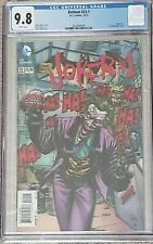 Batman #23.1 / Joker #1 Graded Comic CGC 9.8 Lenticular