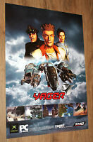 2003 Yager Video Game rare Promo Poster 84x59.5cm Xbox