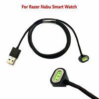 Para Razer Nabu Smartwatch USB Cable de Carga Dock Cargador de Cable de Datos