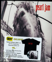 Pearl Jam VS. BestBuy Limited Edition Collector's box exclusive CD+ T-SHIRT