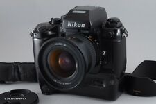【Exc+++++】 Nikon F4E+MB-23+Strap with Tamron AF 19-35mm f3.5-4.5 from Japan 211