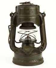 Vintage Lantern FeuerHand No. 75 ATOM STK Sturmkappe Kerosene Oil Storm Lamp