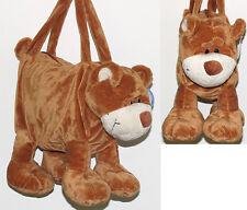 BEAR plush soft animal purse handbag    New