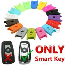 Silicone 3 Button Smart Remote Key Case Fob Cover For BMW 1 3 5 7 Series X1 X3