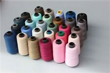4 x 5,000 yard cones Overlocking Sewing Industrial Thread - 120's Polyester