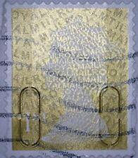1 x GB USED  GOLD 1ST CLASS SECURITY 2011 MACHIN STAMP - M11L / MTIL CODE