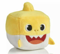 WowWee Pingfong Baby Shark Official Song Cube - Yellow Baby Shark Stuffed Plush