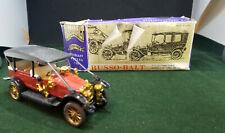 USSR RUSSIA DIECAST 1:43 RUSSO-BALT 1912 C24-40 ORIGINAL BOX CAR RARE LIMOUSIN