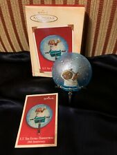 Hallmark ET The Extra Terrestrial 20th Anniversary Christmas Ornament 2002