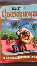 GOOSEBUMPS #38 The Abominable Snowman of Pasadena Stine MORE BOOK IN OUR STORE