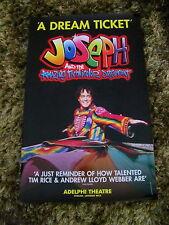 JOSEPH AMAZING TECHNICOLOR DREAMCOAT LONDON MUSICAL THEATRE POSTER LEE MEAD
