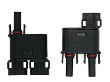 Solar panel branch connector 2 to 1 Pair, MC4