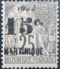 Martinique Scott 32 Unused No Gum Single Issued 1892