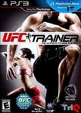 UFC Personal Trainer:The Ultimate Fitness System(PlayStation 3,2011)PS3 Complete