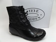 Steve Madden Jtillis-K Bootie, Black, Size 4 M US KIDS NEW DISPLAY D9082