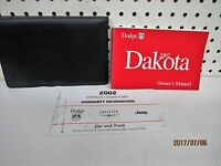 2002 Dodge Dakota  Owners Manual Set   FREE SHIPPING