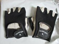Harbinger gloves, fingerless, sport, Ladies Large, women's leather & nylon glove