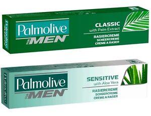 (24,90 €/ L) 100 ML Palmolive Crema da Barba For Uomo Classic Rasatura Sensibile