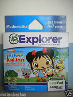 Leap Frog Explorer NI HAO KAI LAN Game SUPER HAPPY DAY Leap Pad GS Leapster NEW