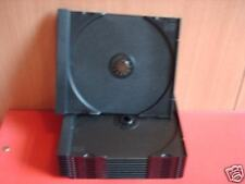 20  CD TRAYS  (INNERS) BLACK