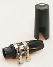 BELMONTE BAND APPROVED SOPRANO SAXOPHONE MOUTHPIECE KIT w/ LIGATURE & CAP - NEW!
