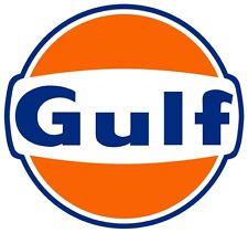 Gulf Oil Gasoline Vinyl Decal / Sticker ** 5 Sizes **
