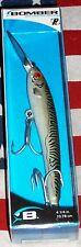 bomber a-salt hd4 saltwater fishing lure dark green mackerel 4 1/4 inches long