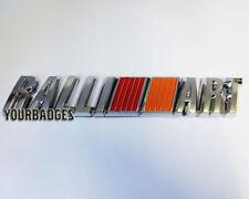 Nuevo Cromo ABS Ralli Art Ralliart placa de coche placa Mitsubishi Lancer Evo