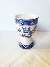 Blue Willow Egg Cup England