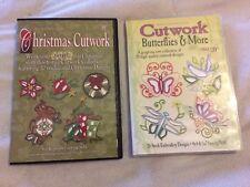 Dakota Embroidery Design CD-Roms: Christmas Cutwork, Butterflies & More 5x7 &4x4