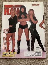 WWF Raw Magazine March 1999