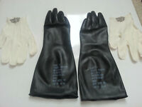 Sealed Unissued US Army Military Surplus Chemical Gloves - NBC Biological