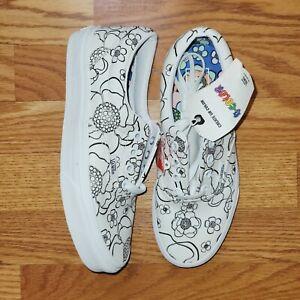 Vans U-Color Era True White Skate Lace Up Shoes Women's Size 7.5 / Men's Sz 6