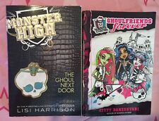 Monster High 2 Book Lot: Cool Friends Forever & The Cool Next Door