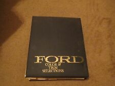 1973 FORD MUSTANG GRAN TORINO MAVERICK BRONCO F-SERIES COLOR UPHLSY DEALER ALBUM