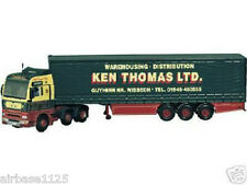 CORGI moderno 1/50 MAN TGA CURTAINSIDE KEN Thomas Ltd-cc13403