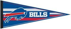 """WinCraft NFL Buffalo Bills Carded Classic Felt Pennant, 12"""" x 30"""