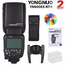 US Yongnuo YN600EX-RT II Wireless Flash Speedlite TTL Slave Master HSS for Canon