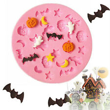 Halloween Designed Cake Chocolate Cookies Decorating Baking Kitchenware Mould