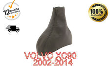 VOLVO XC90 XC 90 2002-2014 REAL ITALIAN LEATHER GEAR STICK GAITER - AUTOMATIC