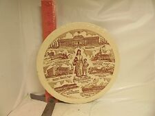 VERNON KILNS OKLAHOMA PLATE - OKLAHOMA AS IT WAS IN THE 1940'S - HEART OF THE SW
