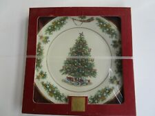 Lenox 2002 Trees Around The World Plate Netherlands -New in Box -Box not perfect