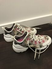 Dior Connect Kaleidiorscopic Kaleidoscope Lace Flat Trainer Sneaker Shoes 39.5