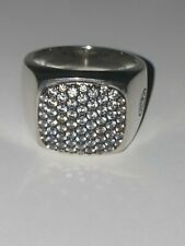 David Yurman Streamline Grey Sapphire Men's Ring size 9.5