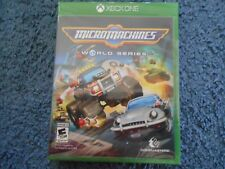 MICRO MACHINES WORLD SERIES XBOX ONE FACTORY SEALED!!!  L@@K!!!  FREE SHIP!!!!!
