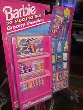 """Barbie SO MUCH TO DO! """"Grocery Shopping"""" 1994 (Mattel #67167) RARE NEW!!"""