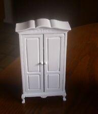 Angebot Kleiderschrank weiß - Holz - 2. Wahl - Miniatur 1:12