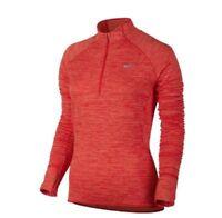 Nike Sphere Element 1/2 Half Zip LS  Women's Small Running Top 922459 842